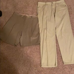 Tommy Bahama men's size 32 pants and shorts